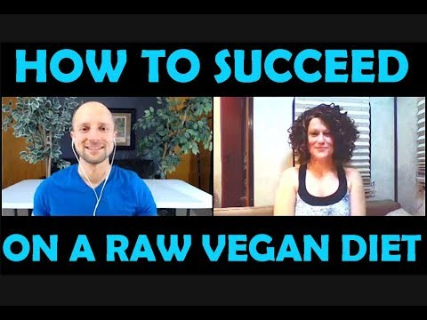 How To Succeed On A Raw Vegan Diet With AJ Darby