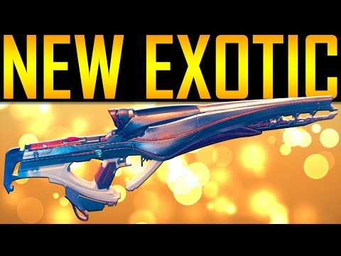 Destiny 2 - NEW EXOTIC! POLARIS LANCE!
