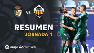 Resumen de SD Ponferradina vs CD Castellón (1-2)