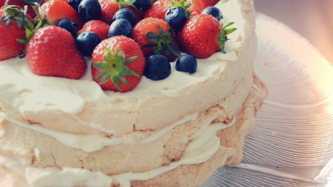 Готовим дома торт павлова