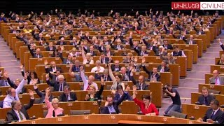 European Parliament Passes Resolution on Centenary of Armenian Genocide