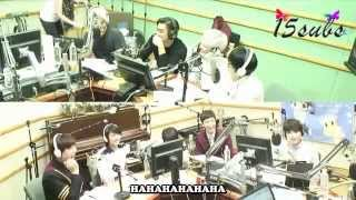 [ENGSUB] 140910 Kiss the Radio with Super Junior [15SUBS]