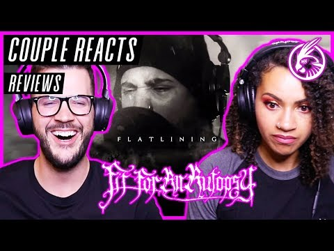 "COUPLE REACTS – FIT FOR AN AUTOPSY ""Flatlining"" – REACTION / REVIEW"