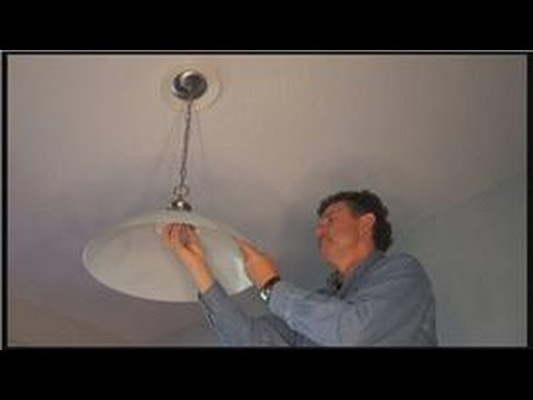 Electrical Home Repairs : How To Replace Light Fixture Wiring