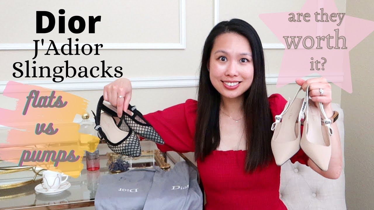 Dior J Adior Slingback Review Worth The Money Flats Vs Heels Youtube