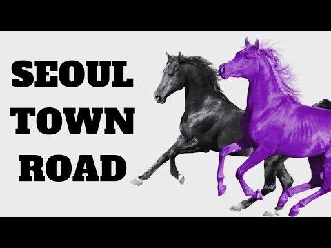 Lil Nas X RM of BTS - Seoul Town Road Old Town Road Remix