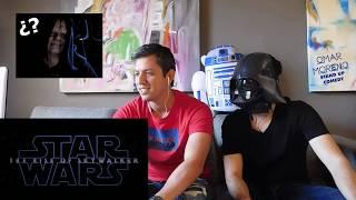 Star Wars Episodio 9 teaser trailer reacción (reaction)