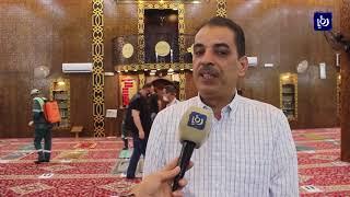 البدء بتعقيم المساجد استعدادا لاستقبال المصلين الجمعة المقبلة (31/5/2020)