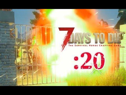 【7 Days to Die】爆発する敵:20