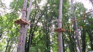 Мотузковий парк в Ужгороді