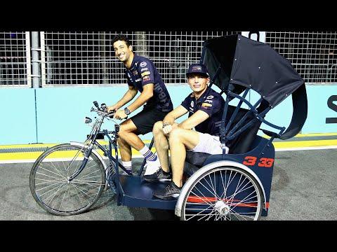 The Singapore Trishaw |  Max Verstappen and Daniel Ricciardo's Marina Bay Track Guide