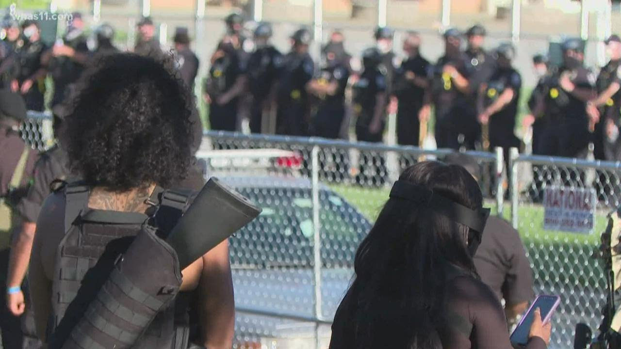 NFAC Returns to Louisville, Protest Ends Early