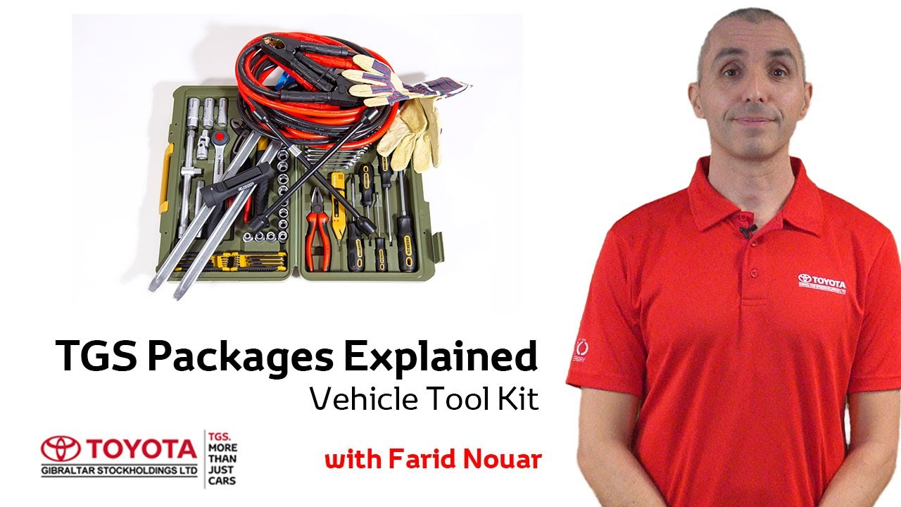 TGS Essential Packages Explained - Vehicle Tool Kit