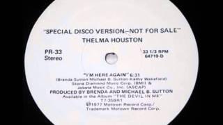 Thelma Houston - I'm Here Again