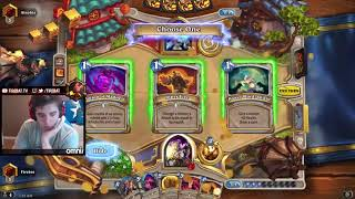 Firebat is going to legend with a Elemental Lyra Priest (Un'Goro)