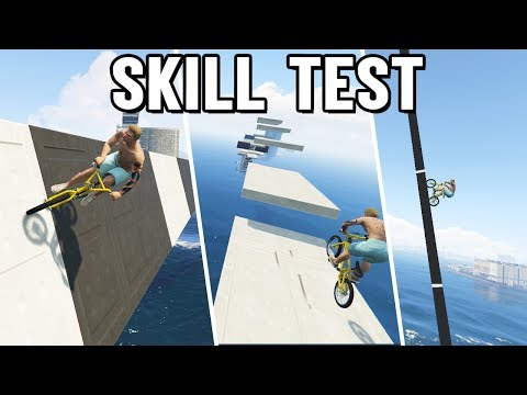 BMX WALLRIDE, JUMPS & KLETTERN ? BMX Skill Test in GTA 5 Online thumbnail