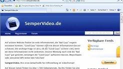 Internet Explorer 8: Menüleiste permanent einblenden
