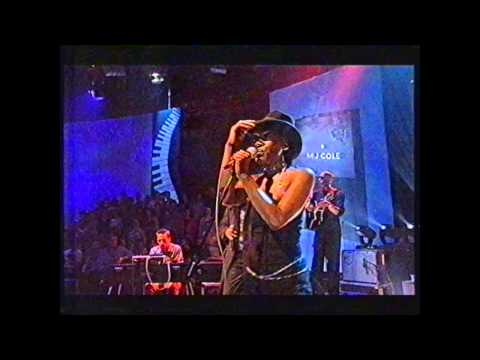 MJ Cole - Sincere (Live 2000 BBC Later with Jools Holland)