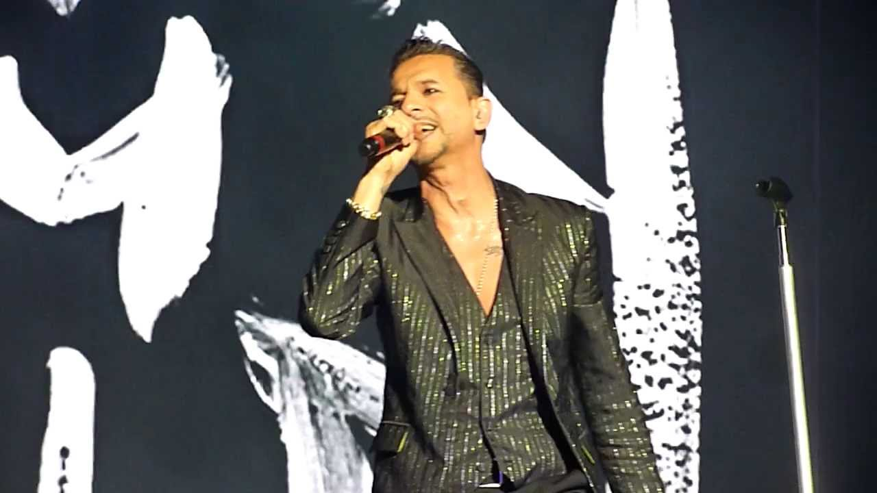 Depeche Mode Welcome To My World Live In Tel Aviv May 7 2013 Hd Youtube