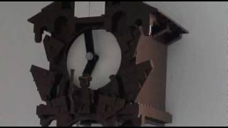 Lego Cuckoo Clock Strikes Seven