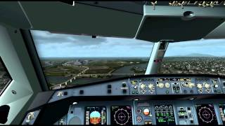 fsx blackbox simulation airbus widebody xtreme prologue landing at vancouver as real as it gets
