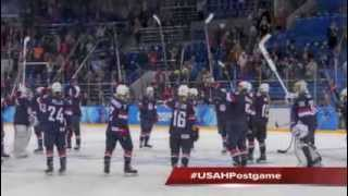 USA Hockey Olympic Show: Women Drop Finland in Opener