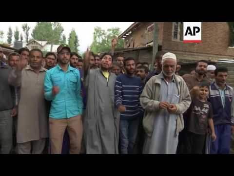 Dead man becomes face of anti-India resistance