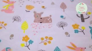 Ткань Оптом и в Розницу. Видео Обзор. Китайский Хлопок К176