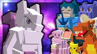THE MEWTWO CHALLENGE! (Minecraft Pokemon)