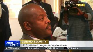 UN Report Reveals Widespread Human Rights Abuses in Burundi