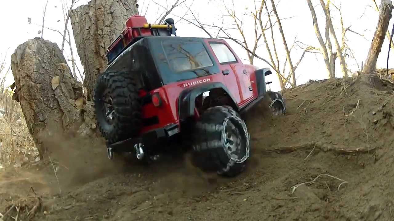 Prospect Park Solo Axial Scx10 Jeep Rubicon Scale