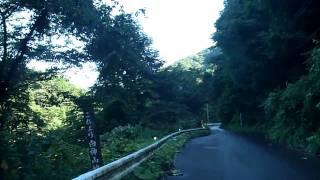 車で白神山地 秋田青森県道317-黒石川林道 1