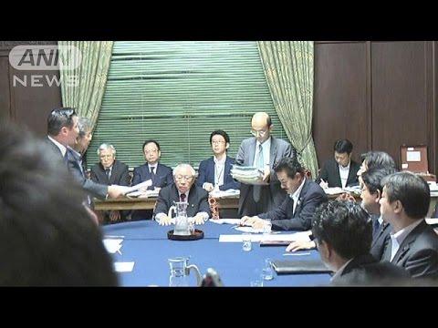 安保法案の審議がヤマ場 きょう審議打ち切りを決定(15/09/16)