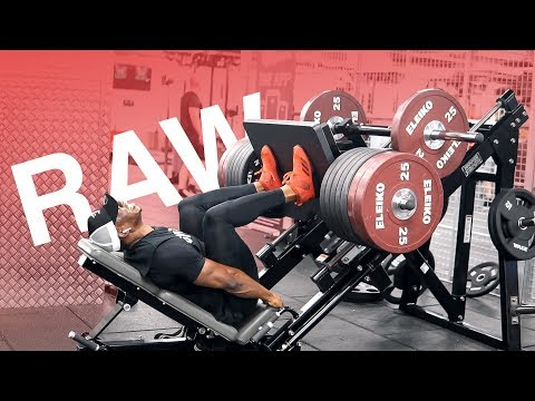 RAW LEG WORKOUT *sets and reps included | Unfiltered Episode 1