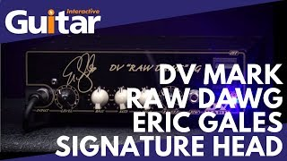 DV Mark Raw Dawg Eric Gales Signature Head | Review