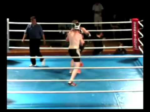 Connor Dunne vs Colin Robinson - Rowers Fight Night 4