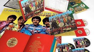 Sgt. Pepper 50th Anniversary Deluxe Edition Box Set UNBOXING!