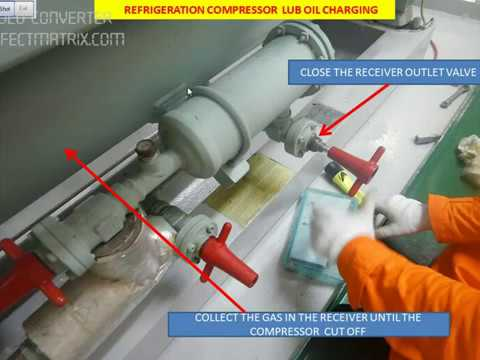How To: Charge Compressor Oil To Refrigeration System?