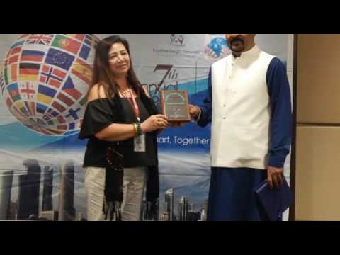 Presentation of Participation shield 7th AGM Doha , Qatar