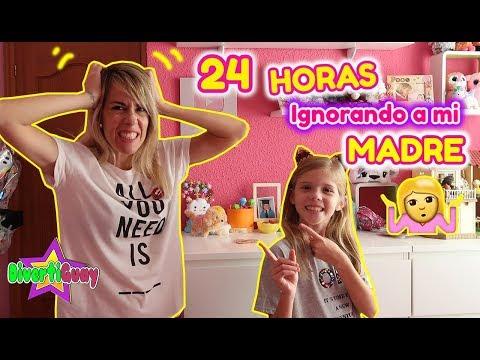 24 HORAS IGNORANDO A MI MADRE!! PASO UN DÍA ENTERO IGNORANDO A MI MAMÁ!! DANIELA DIVERTIGUAY