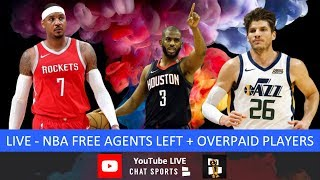 NBA Now On Chat Sports - Free Agency Latest (July 9th)