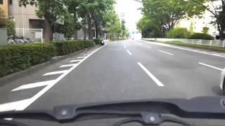 横浜環状2号 岸根町から新横浜駅方面 スピード取り締まり ネズミ捕り