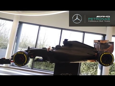 F1 wind tunnel model explained!