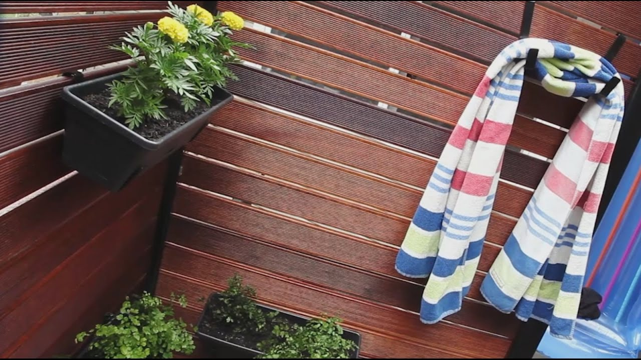 Pool Privacy Screen pool privacy screen - screen up freestanding - youtube