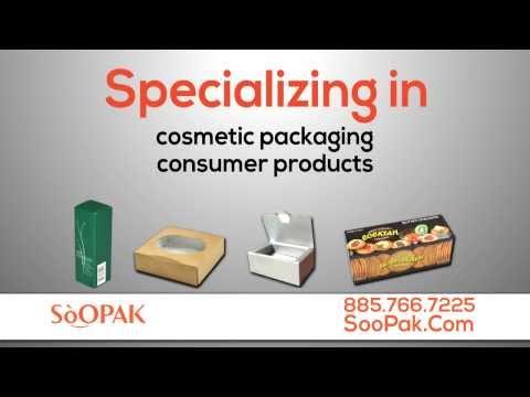 Short Run Packaging Supplier Canada - Packaging Supplier Ontario Canada - SOOPAK