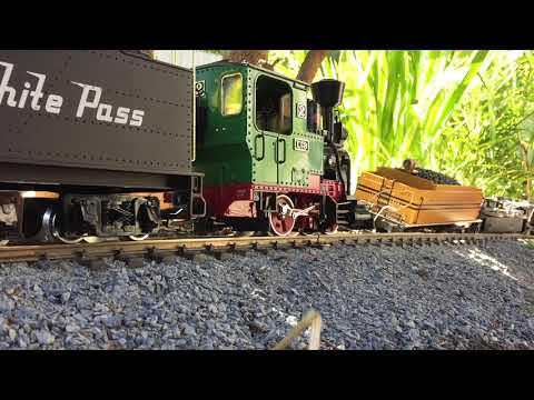 Garden Railway Crash