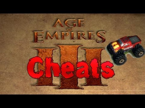 Age Of Empires III - All Cheats