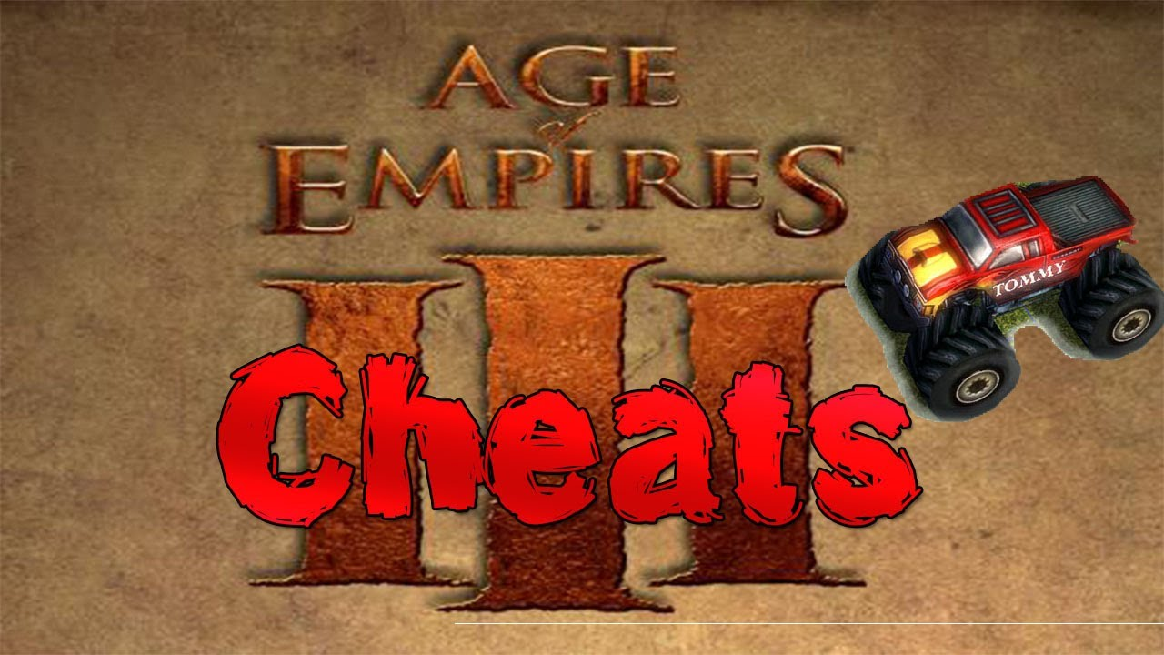 Age of Empires III – All Cheats