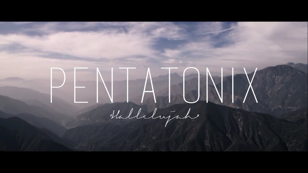 PENTATONIX - HALLELUJAH (LYRICS) - YouTube