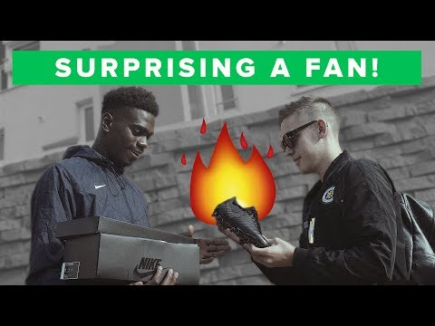 Delivering LIMITED NIKE BOOTS to a Subscriber - Only 100 pairs in the WORLD!